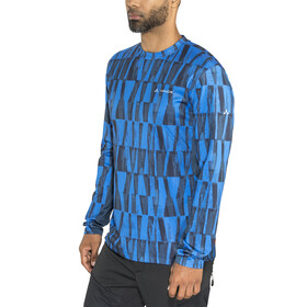 VAUDE Virt Longsleeve Shirt Men radiate blue
